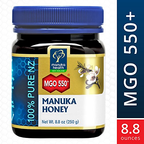 Manuka Health   Mgo 550  Manuka Honey  100  Pure New Zealand Honey  8 8 Oz  250 G   Ffp