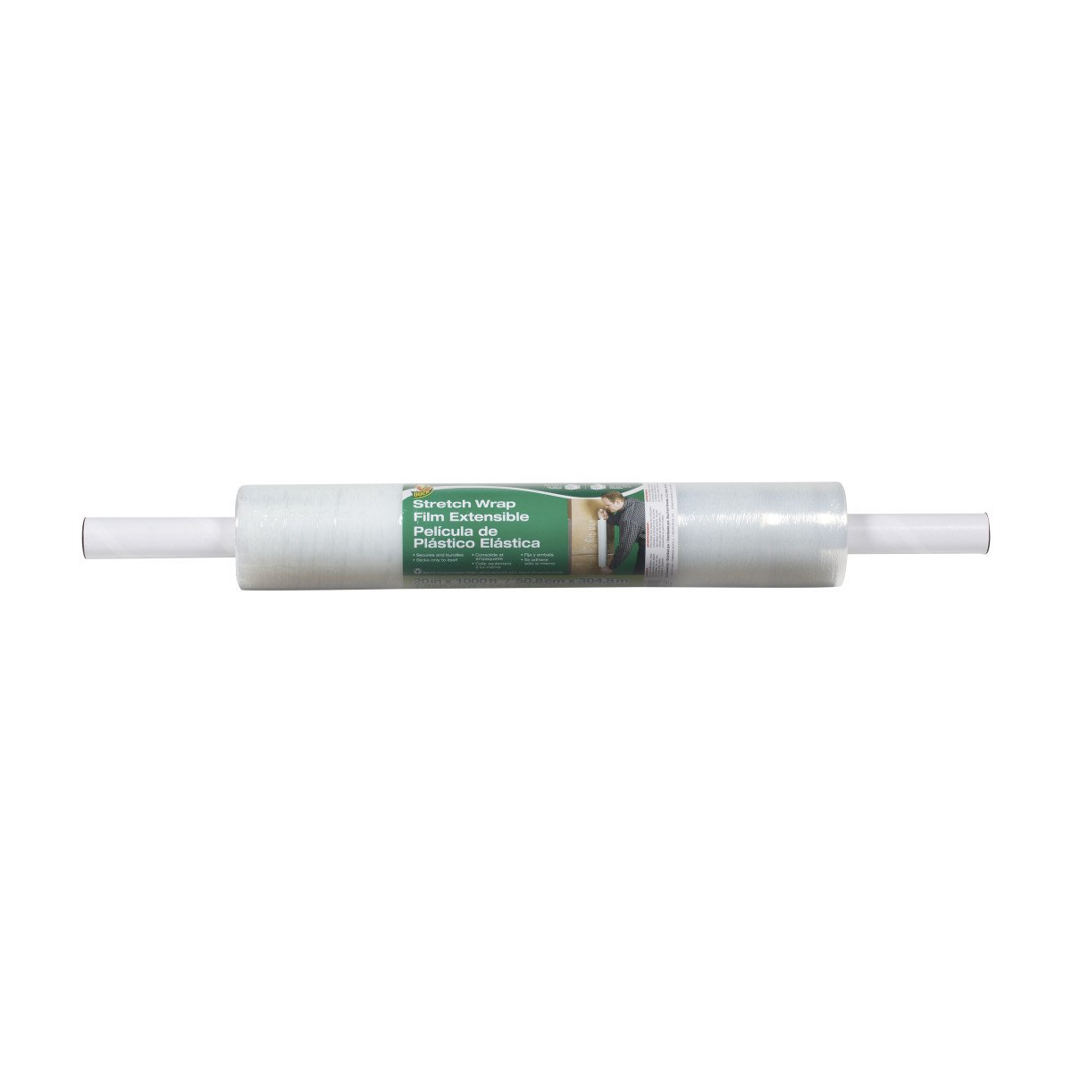 Duck Brand Stretch Wrap Roll Clear 285850 1 pack 20 inches by 1000 feet