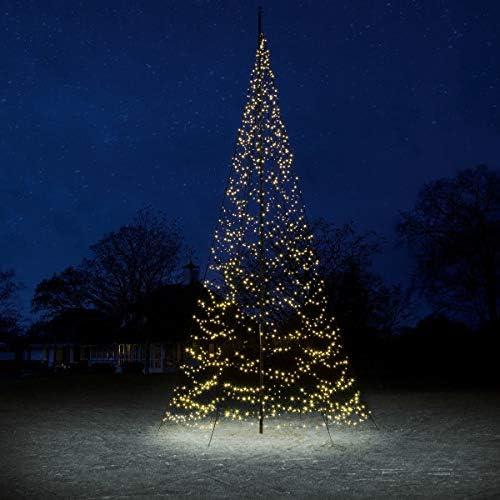 Pureday Navidad Deco-jardín Deco Bandera árbol de luz LED Iluminado: Amazon.es: Jardín