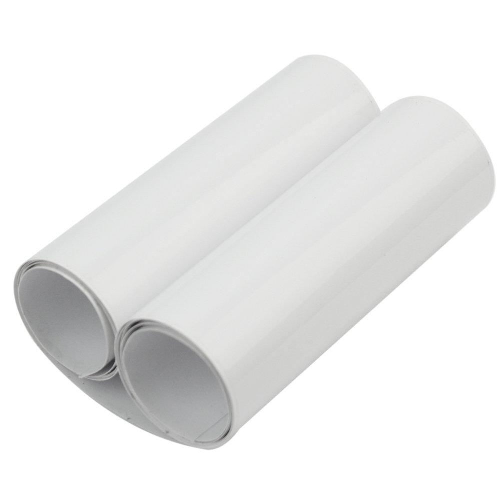 Merssavo 100x10cm Films de protection pour peinture pour Voiture pare-choc capot Transparent