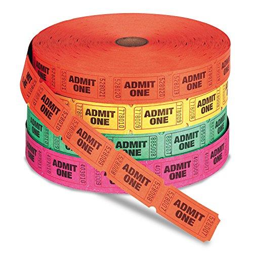 green admit one tickets - 2
