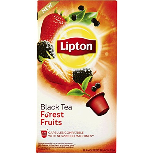 (60 x LIPTON - Nespresso OriginalLine Compatible Capsules - BLACK TEA FOREST)