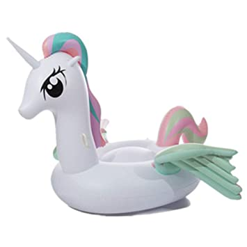 Feng Flotador Unicornio Hinchable Grande, Juguete Inflable ...