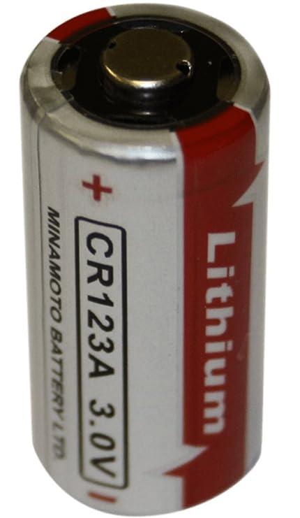 py45 – Pyronix Recambio CR123 A 3 V batería de litio para detectores de humo y