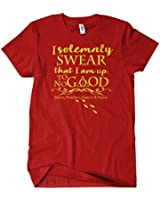 Marauders Map Mens T-Shirt Harry Wizard Potter Funny Tee Hog Castle Warts