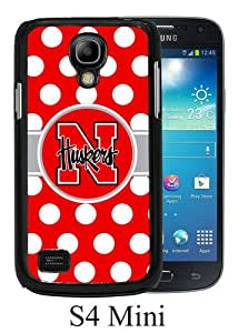 Beautiful And Unique Designed Case For Samsung Galaxy S4 Mini With Ncaa Big Ten Conference Football Nebraska Cornhuskers 22 black Phone Case