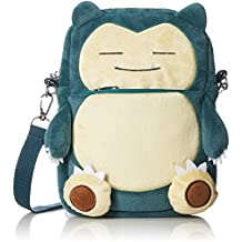 Pokemon Snorlax Pochette Plush Crossbody Wallet