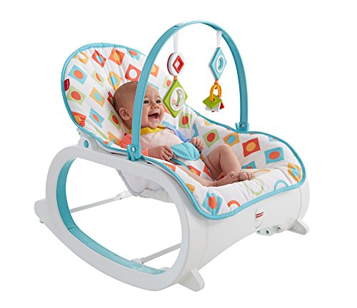 Fisher-Price Infant-to-Toddler Rocker, Geo Diamonds (Baby And Infant)