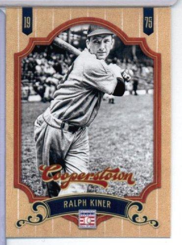 2012 Panini Cooperstown Baseball Card # 132 Ralph Kiner