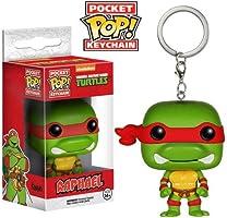 Funko Action Figure Keychain Teenage Mutant Ninja Turtles - Raphael