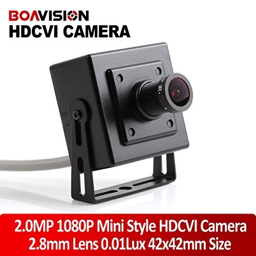 2MP HDCVI 1080P 2.8mm Lens Super Mini Size 42*42mm CCTV CVI HD Camera For 1920*1080 CVR DVR by BoaVision