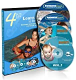 Swimming Lessons for Kids & Adult - Techniques & Tips - 4 DVD Set