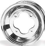 ITP T-9 Pro Series Wheel - 10x5 - 3+2 Offset - 4/144 - Polished , Bolt Pattern: 4/144, Rim Offset: 3+2, Wheel Rim Size: 10x5, Color: Polished, Position: Front T154142