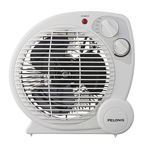 e652e70034 PELONIS HB-211T Portable Space Heater Model with Automatic Safety Shutoff  and Energy Efficient Temperature Control 3 Heat Settings (600 W/900 W/1500 W )