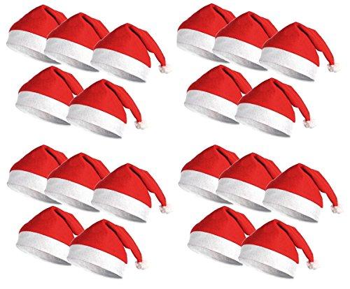 Lulu LAB 산타 모자 20 매세트 크리스마스 파티 나 이벤트 등에서!