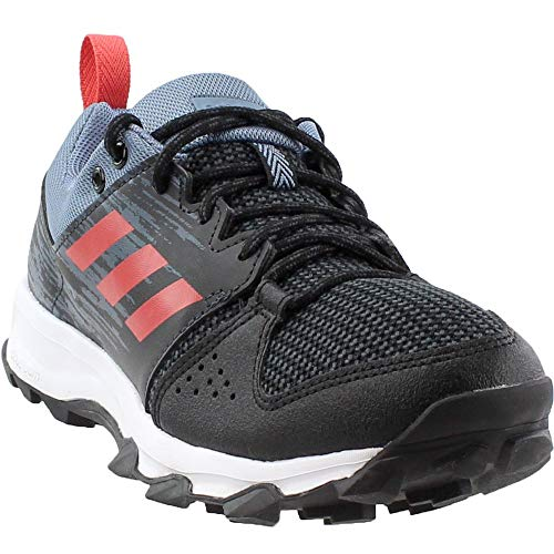 (adidas Women's Galaxy Trail W Running Shoe, CBLACK/TRASCA/Carbon,6 M)