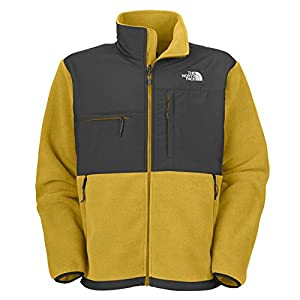 The North Face Men's Full Zip Denali Hoodie (Leopard Yellow, Medium) by The North Face