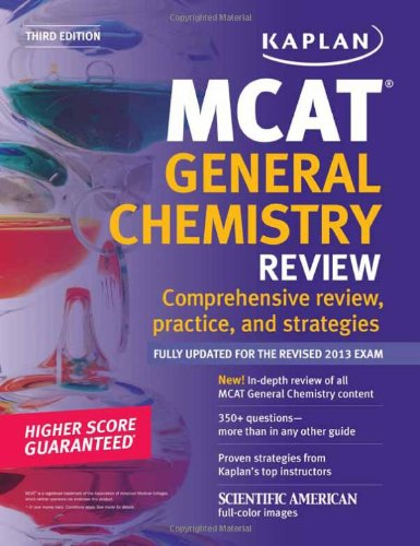 Kaplan MCAT General Chemistry Review Notes (Kaplan Test Prep)