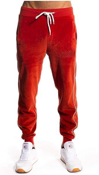 Grimey Pantalon The Payback Rojo Hombre: Amazon.es: Ropa y accesorios