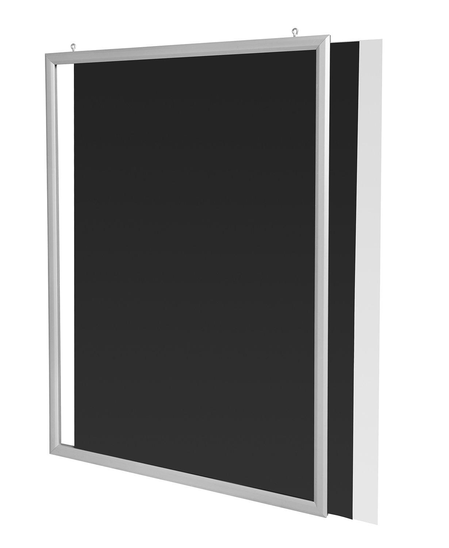 Plakatrahmen, Einschubrahmen aus Aluminium im DIN A1 Format: Amazon ...