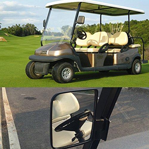 Universal Golf Cart Side View Mirrors For Ezgo Club Car