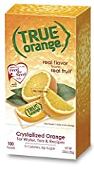 Real Flavor from Real Fruit: Enjoy fresh-squeezed Orange taste any time, anywhere! We love fresh-squeezed orange taste so much that we wanted to enjoy it wherever we go so we made True Orange. True Orange is the most convenient way to add fre...