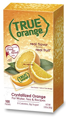 True Orange 100 Count (Honey Lemon Water)