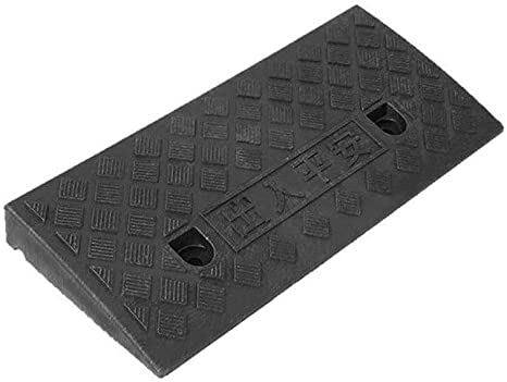 Kerb Ramps Lightweight Multi-Function Ramps Motorcycle Ramps Threshold Ramps Deceleration Pad car ramps Curb Ramps Zhou-WD Bike Ramps for Door Color : Black, Size : 50225CM