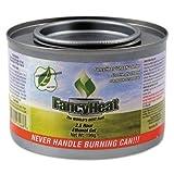 FHCF600 FANCY HEAT C-ETHANOL GREEN CHAFING FUEL 8OZ 2.5HR 72