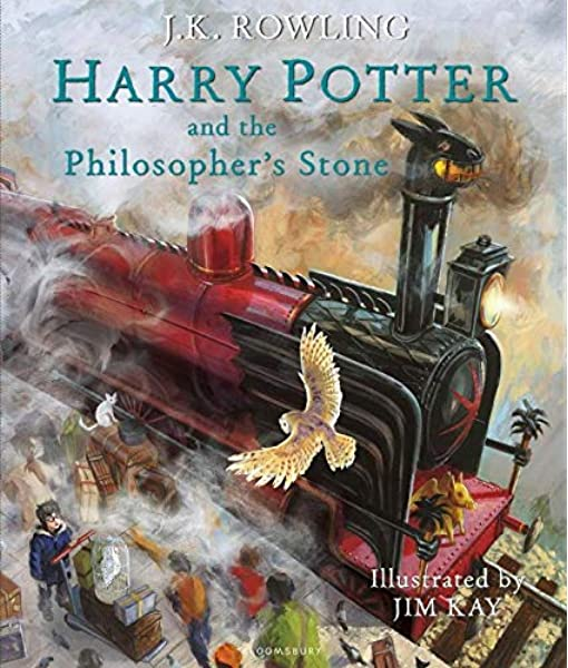 Harry Potter And The Philosophers Stone: Illustrated Edition ...