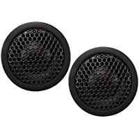 Kicker 41KST204 3/4 Silk Dome Tweeter - Pair (Black)