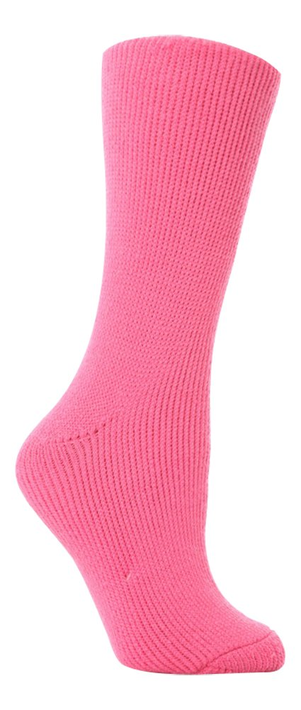 Womens Original Ultimate Thermal Socks One size 5-9 us Mid Pink Heat Holders