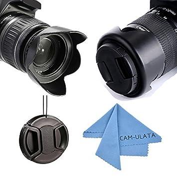 Lente Campana, CAM-ULATA 58mm reversible tulipa flor kit de la lente Kit para