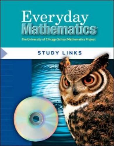Everyday Mathematics, Study Links: Grade 5 (The University of Chicago School Mathematics Project)