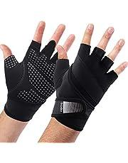 BOILDEG Fitness Handschuhe Gewichtheben,Ideal zum Gewichtheben,Crossfit Training und Radsportanzug für Damen und Herren
