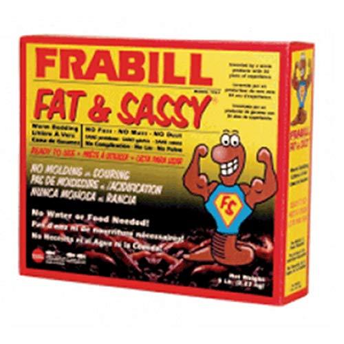 Frabill Fat & Sassy Pre-Mixed Worm Bedding - - Sassy Worm