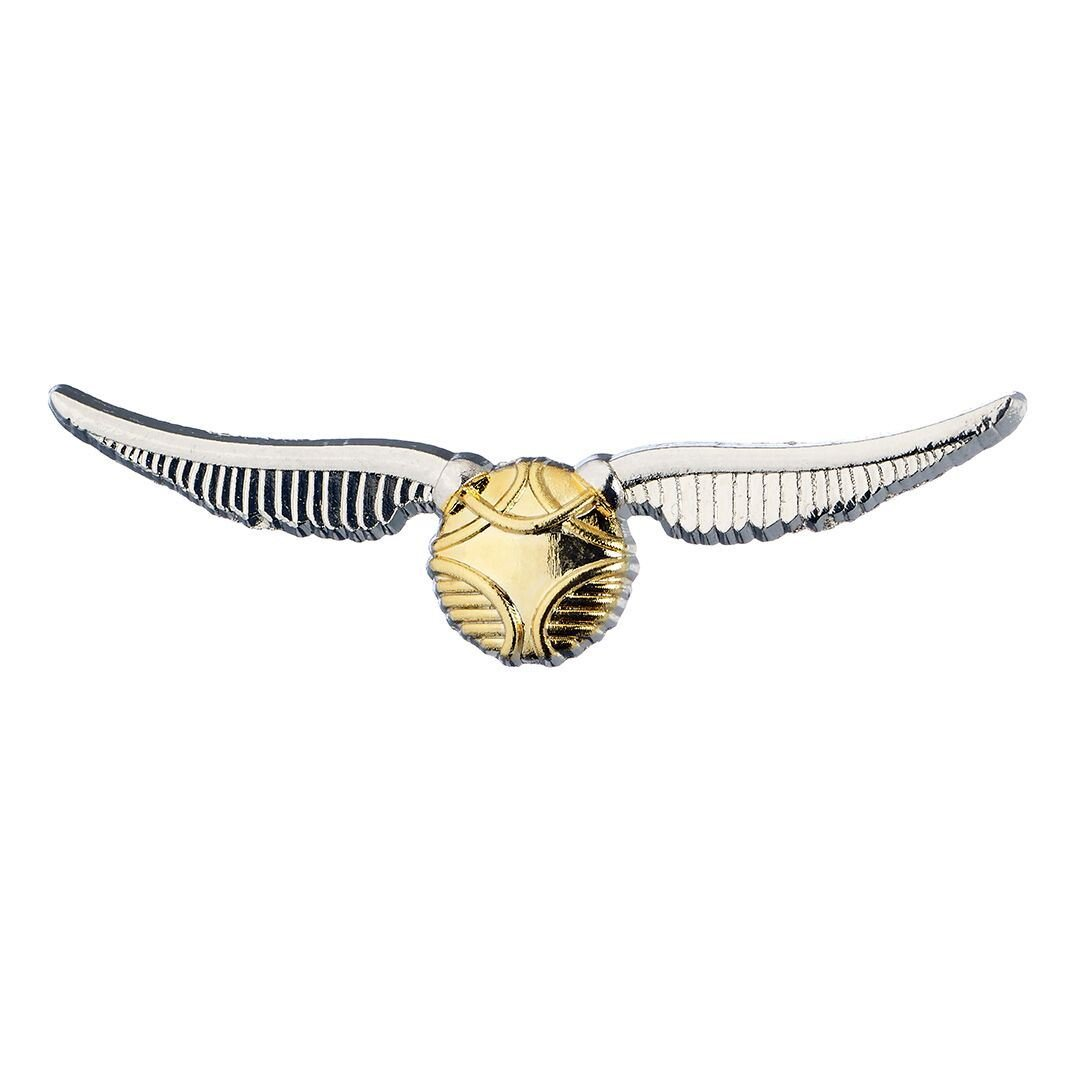 Harry Potter Golden Snitch Charm Pin Badge The Carat Shop HPPB0004
