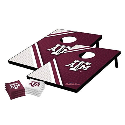 A&m Texas Bag Bean - Wild Sports NCAA College Texas A&M Aggies Tailgate Toss Bean Bag Game Set, Medium