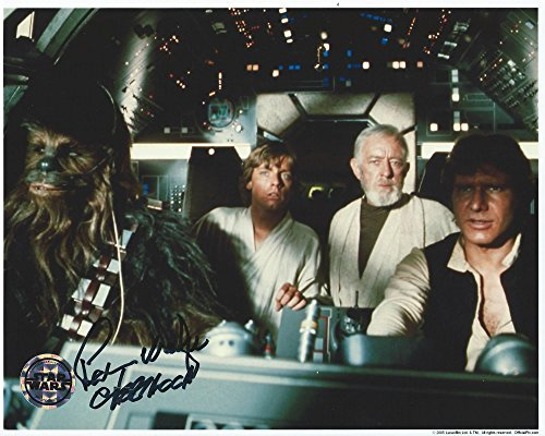 Important Wars Signed Autographed Peter Mayhew as Chewbacca 8x10 Photo
