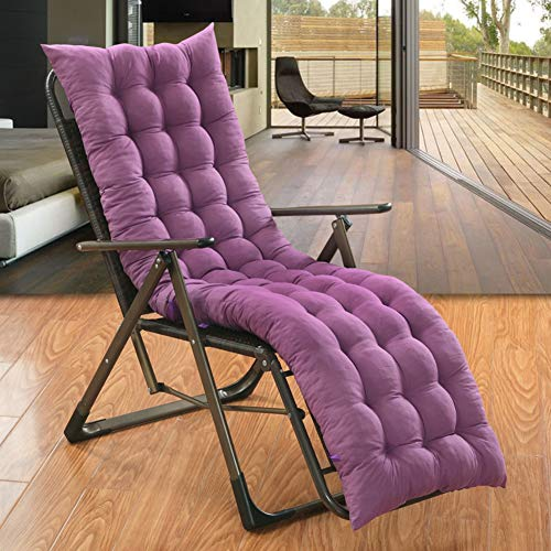 ZOUDIN Indoor Outdoor Swing Bench Cushion Veranda Wicker Cushion Non-Slip Twill Rocking Chair Cushions-L 48x150cm(19x59inch)