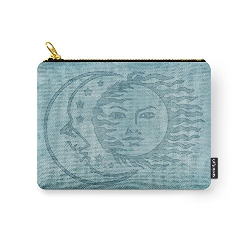 Society6 Sun Moon And Stars Batik Carry-All Pouch Small
