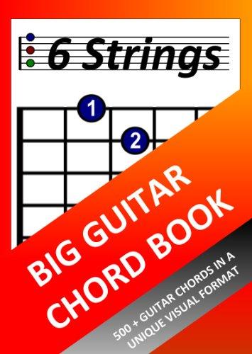 Big Guitar Chord Book 6 Strings Kindle Edition By Richard Moran