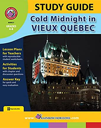 Study Guide Cold Midnight In Vieux Quebec Kindle Edition By