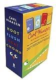 img - for Hiaasen 4-Book Trade Paperback Box Set (Chomp, Flush, Hoot, Scat) book / textbook / text book