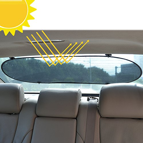 WANPOOL Sun Shade Shield Sunlight Blocker for Car Side and Rear Windows - Protect Your Children From Sun and UV Rays - 3 Pieces