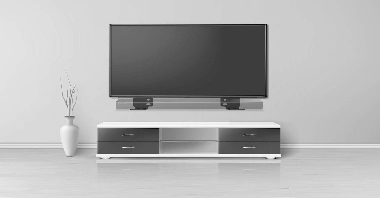 Schwarz SoundTouch 300 /& Soundbar 500//700 schwarz von WALI BSM002 Wandhalterung f/ür Bose WB-300 Sound Touch 300 Soundbar 500 700 Lautsprecherst/änder