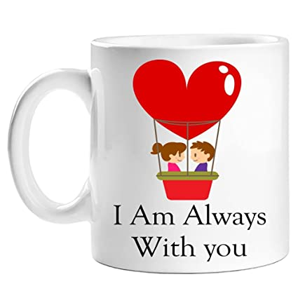 Buy Craziason I Am Always With You Coffee Mug Online At Low Prices