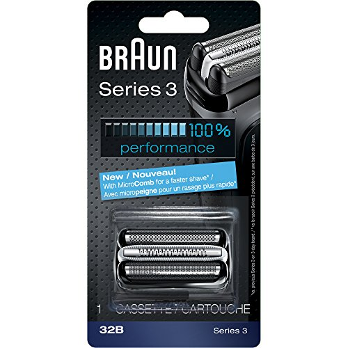- Braun Series 3 32B Foil & Cutter Replacement Head, Compatible with Models 3000s, 3010s, 3040s, 3050cc, 3070cc, 3080s, 3090cc