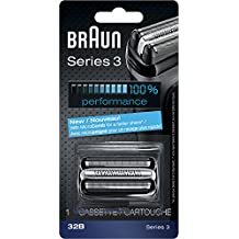 Braun Series 3 32B Foil & Cutter Replacement Head, Compatible with Models 3000s, 3010s, 3040s, 3050cc, 3070cc, 3080s, 3090cc