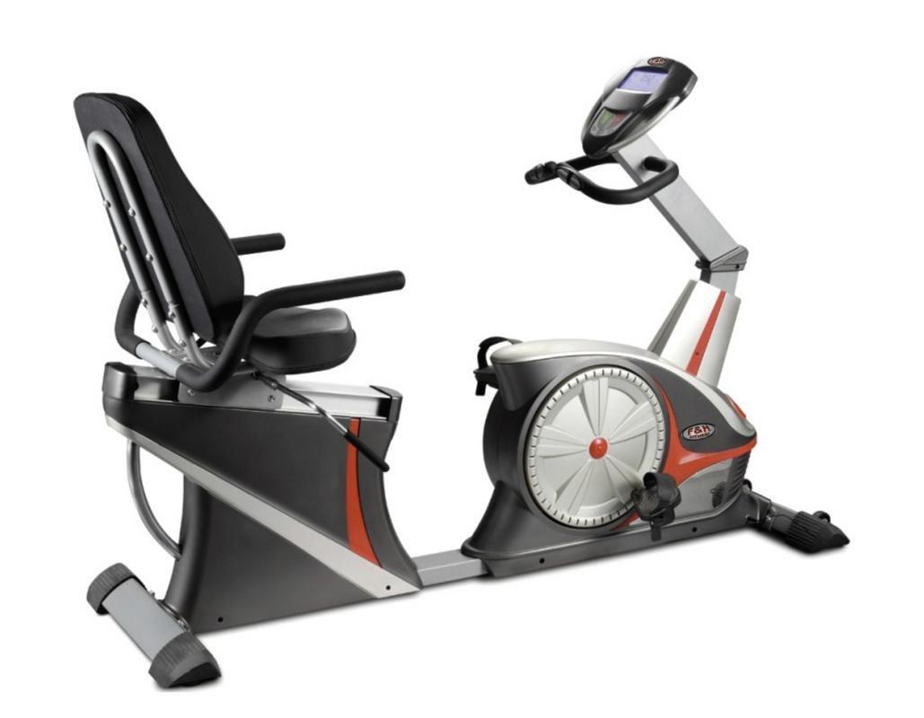 Bicicleta estatica horizontal calidad profesional, diseño roadster ...